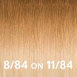 Bronde shades 8-84 on 11-84