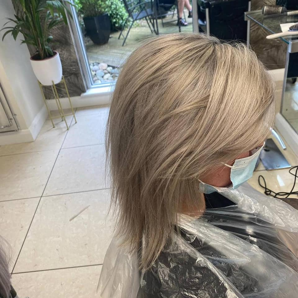Alanna Loughran  at Petra Carroll Hair (Before)