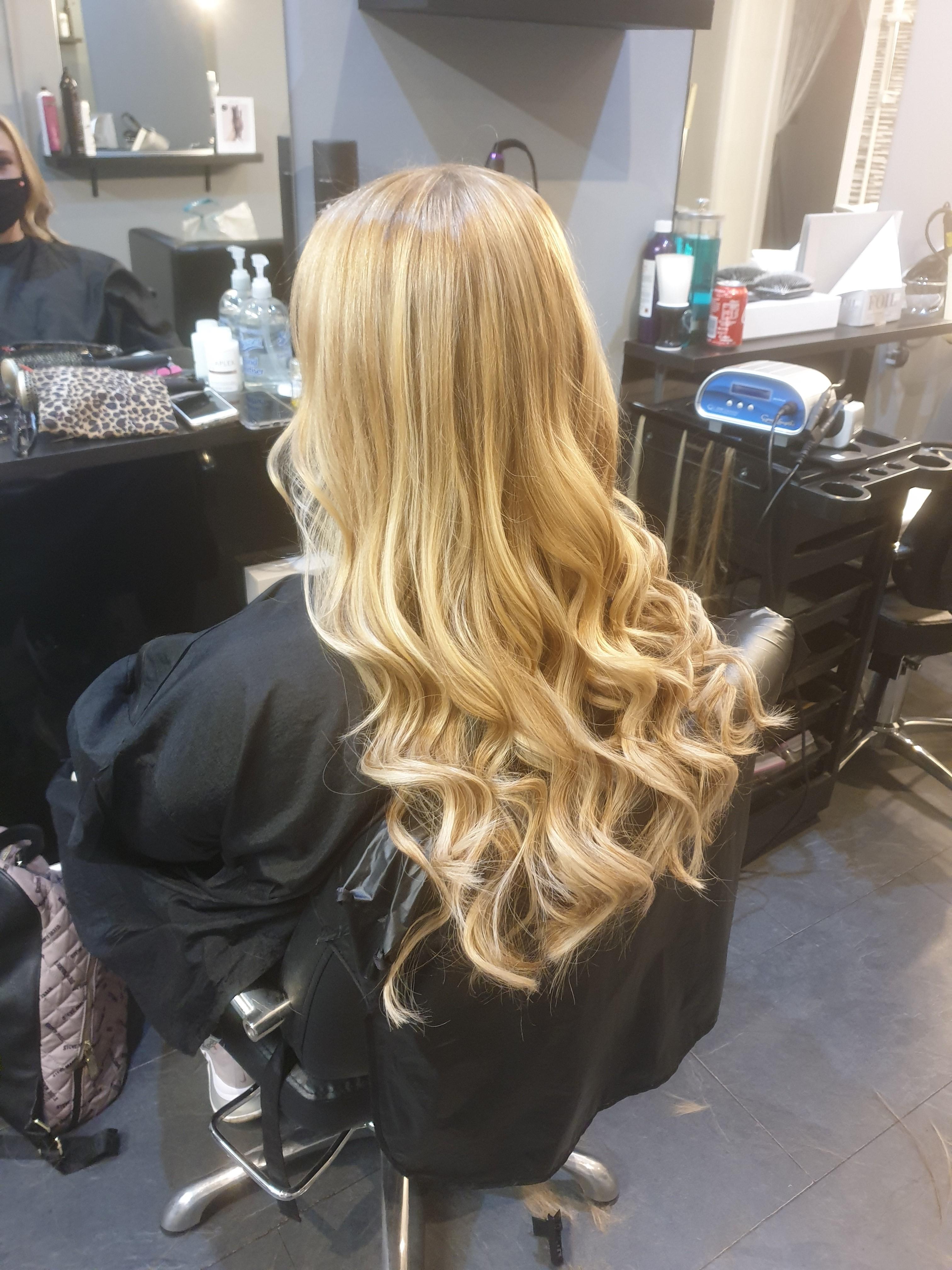 Anne-Marie Ballie at AMB Hair Design (After)