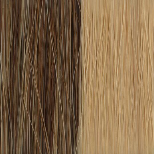 extensão adesiva de cabelos