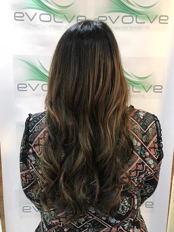 Ebony Gibb-Kirk @ Evolve Hairdressing (After) - Best hair extension application