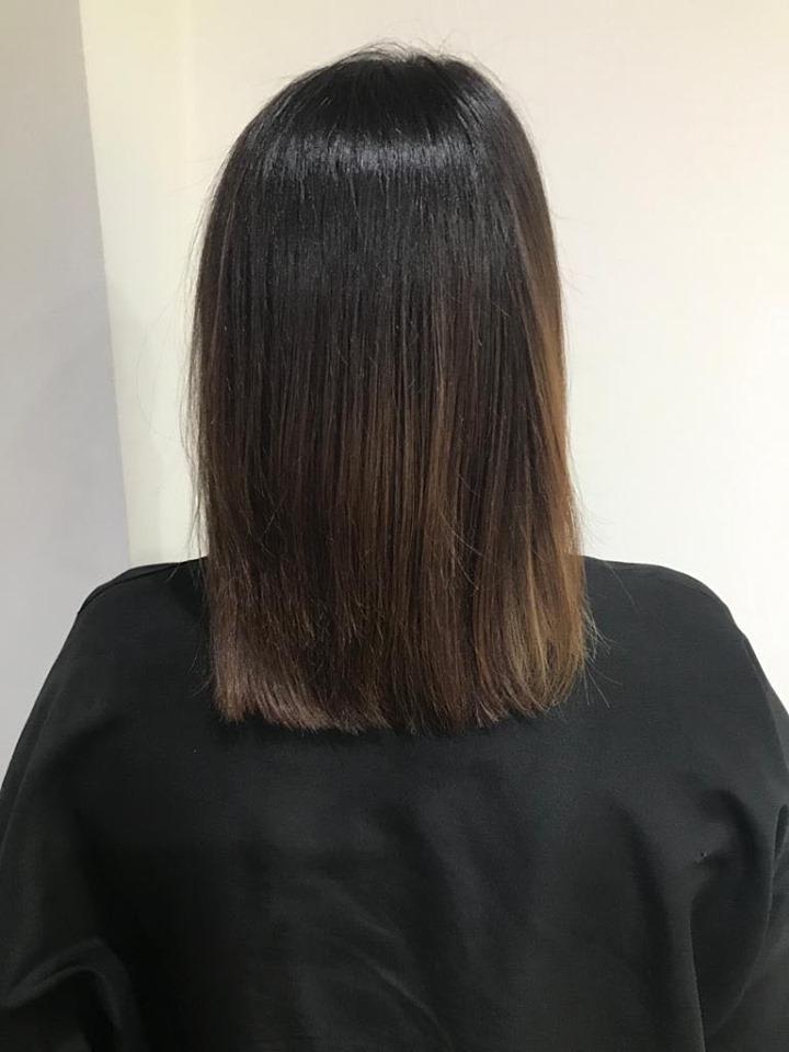 Ebony Gibb-Kirk @ Evolve Hairdressing (Before) - Best hair extension application