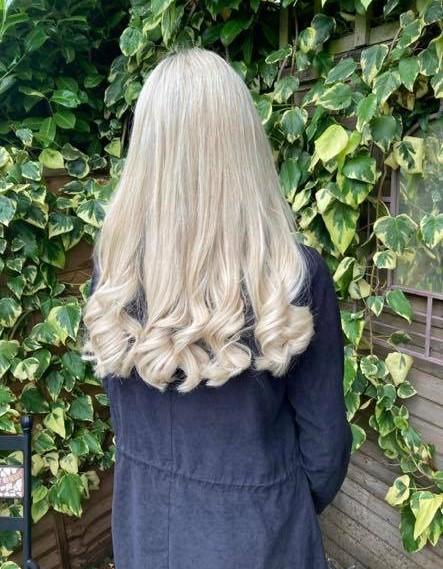 Emma Penfold @ Lox Hair Design (after)