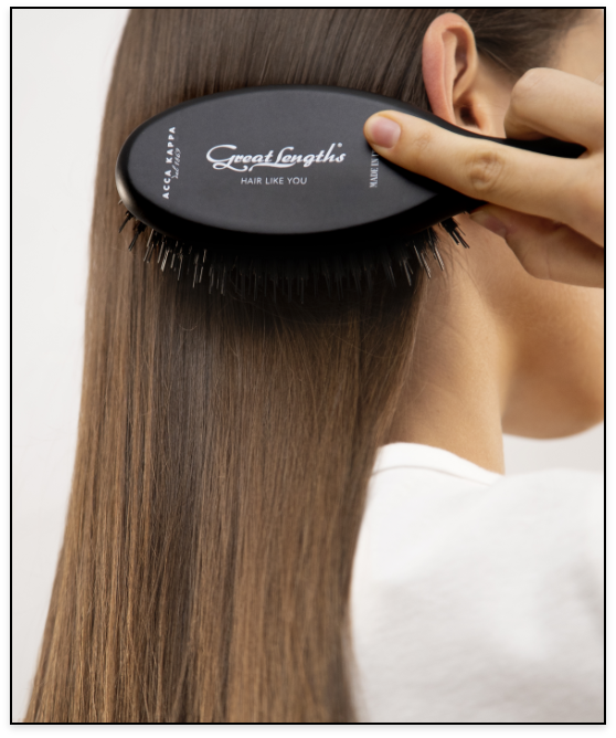 GL Hair extension brush