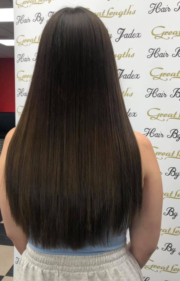 Jade Searcy at Hair By Jade (After)