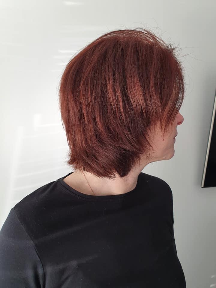 Joanne Fox @ Joanne Fox Hair Extensions (Before) - Best hair extension application