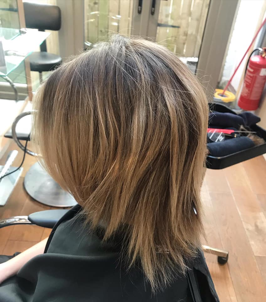 Kady Wright @ Blush Hair & Beauty (Before 1) - Best hair extension application