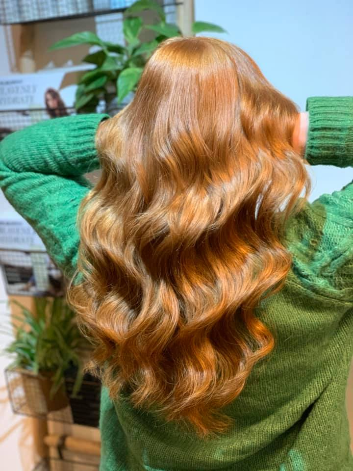 Katie Hemming @ Love Hair (After) - Best hair extension application