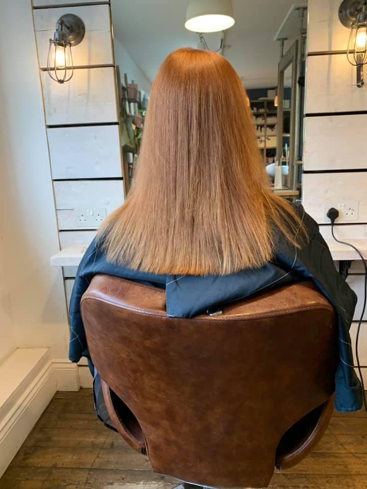 Katie Hemming @ Love Hair (Before) - Best hair extension application