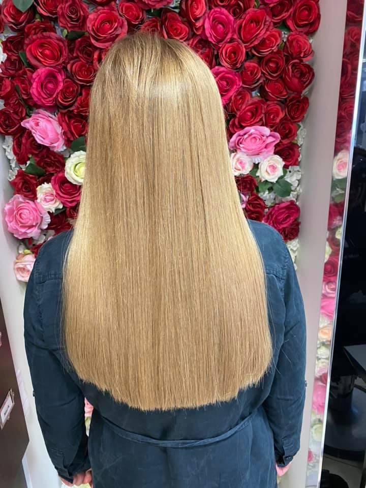 Matthew Lee @ Mark Blake Hair (After) - Best hair extension application