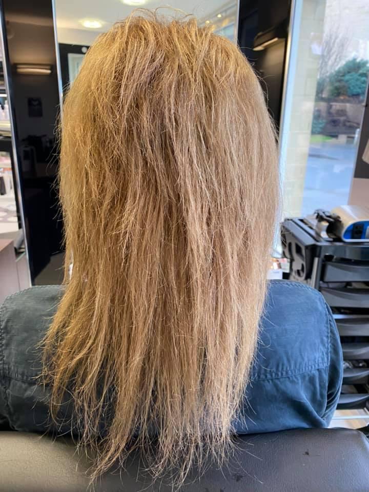 Matthew Lee @ Mark Blake Hair (Before) - Best hair extension application