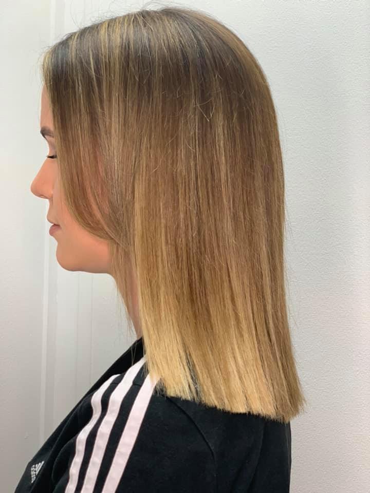 Natasha Musumeci  @ Melanies Hair & Beauty (After 2) - Best hair extension application