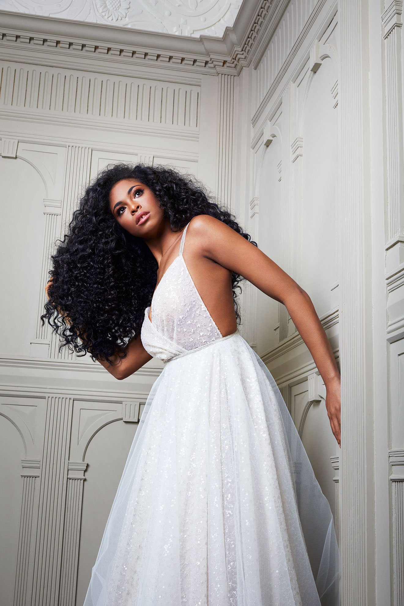 Bridal hair extension campaign