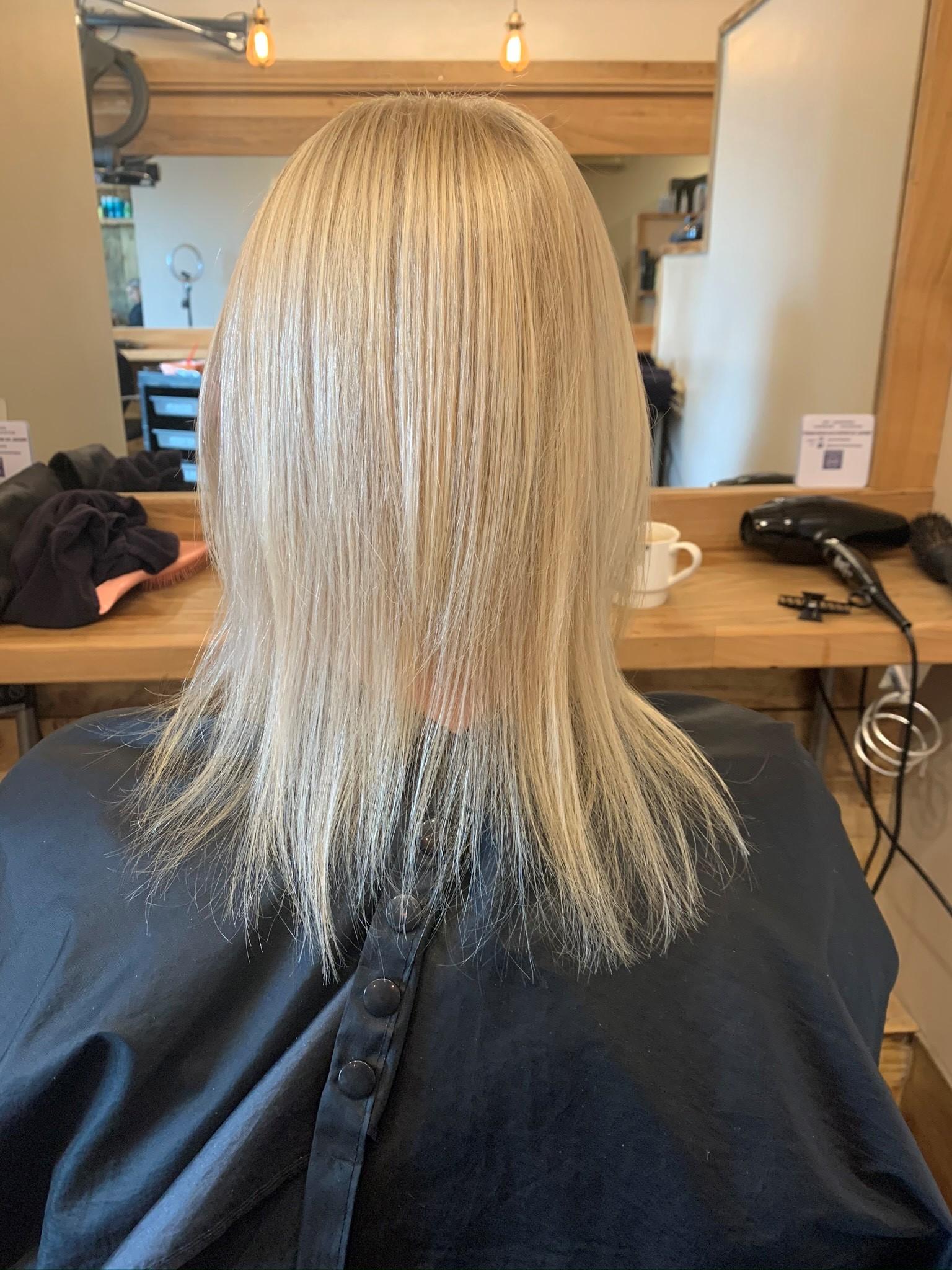 Pauline Hennigan @ Hairworks (Before)