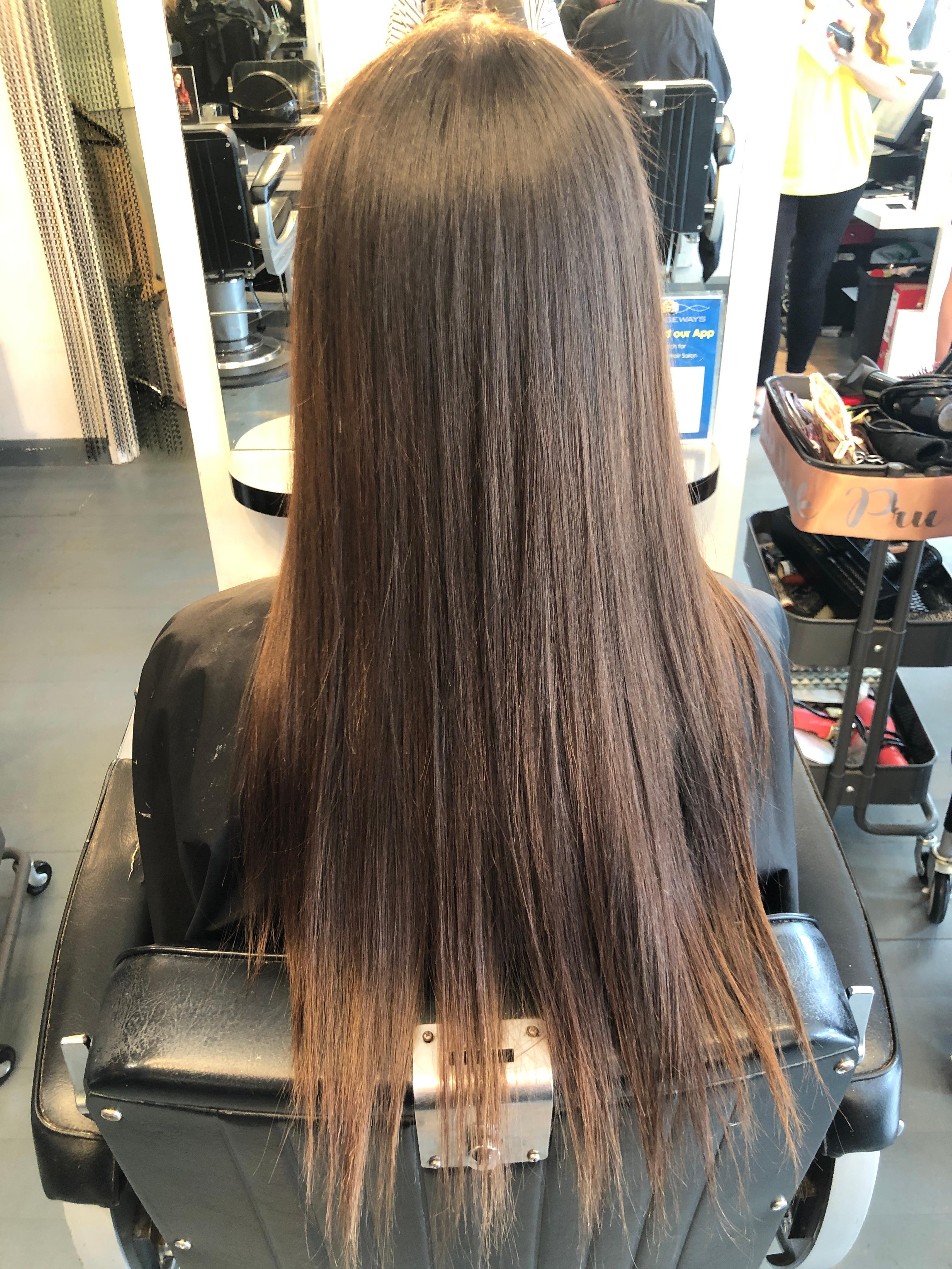 Prudence Nunn @ Strangeways Hair Salon (Before)