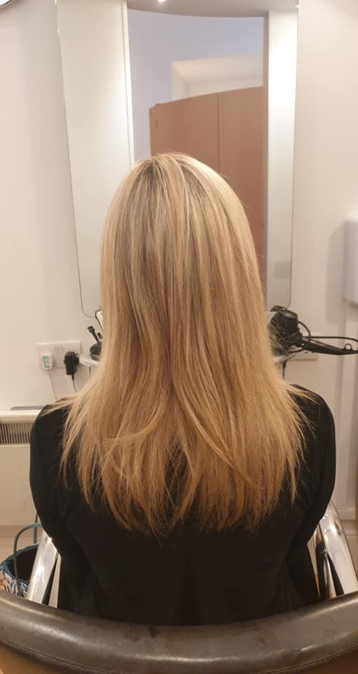 Suzi Gribben @ LA Hair Solutions (Before)